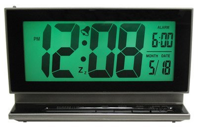 La Crosse Technology LCD Battery Operated Alarm Clock