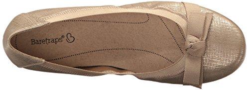 Women's Maiya Soft Gold Baretraps Flat Ballet Z7awBq