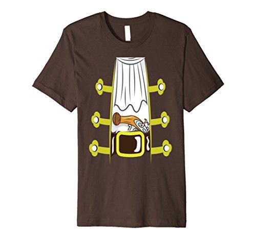 Sailor Outfit For Men (Mens Pirate Buccaneer Shirt Sailor Jacket Gun Funny Pirate Tee XL Brown)