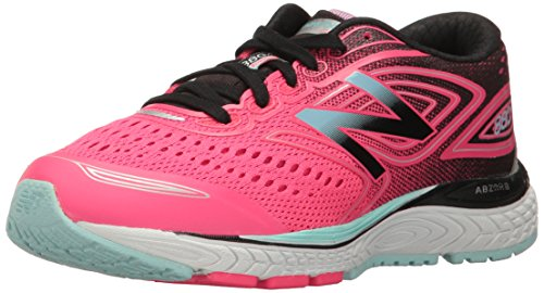 New Balance Girls' 880 V7 Nbx Running Shoe, Pink 1/Black, 13 M US Little Kid Nbx Stability Running Shoe