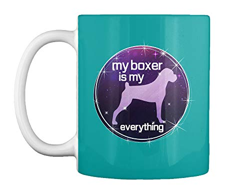 My boxer is my everything 11oz - Aqua Mug - Teespring Mug