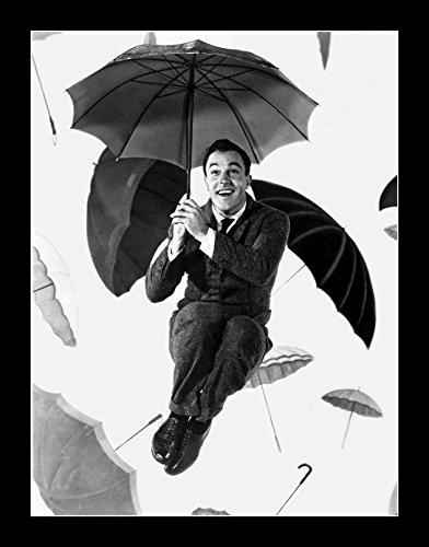 8 x 10 All Wood Framed Photo Kelly, Gene Singin' In The Rain by Celebrity Framed Art