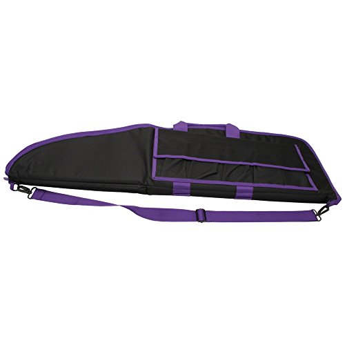 Gun Case  /Blk W/Purple Trim