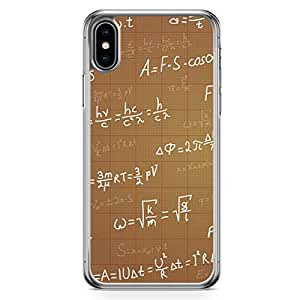 Loud Universe Case for iPhone XS Max Transparent Edge Case Physics Equations iPhone XS Max Cover