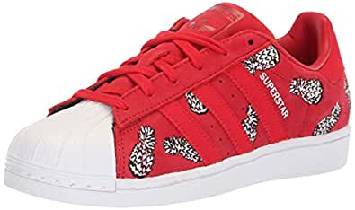 adidas Originals Womens Women's Superstar Shoes Red Size: 5 US / 5 AU