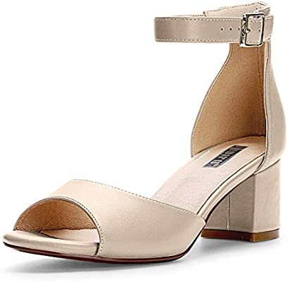 IDIFU Women's IN2 Candie Low Chunky Block Heel Pump Heeled