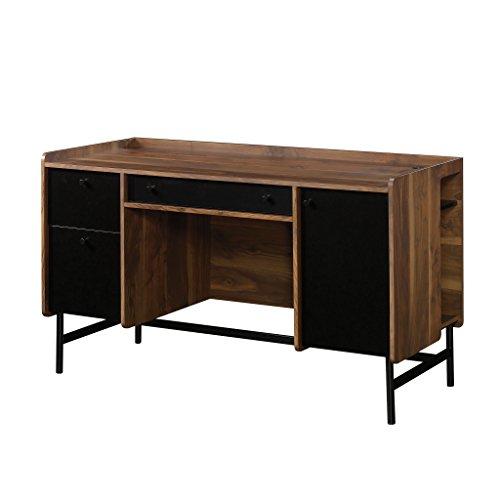 Sauder 422285 Montclair Double Ped Desk, Vintage Walnut ()