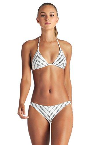 Vitamin A Women's Club 55 Natalie Miter Stripe Triangle Bikini Top Club 55 4 - Knit Halter Top Pattern