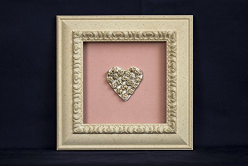 Pink wall decor - best gift for all ocassions (8.3x8.3) in