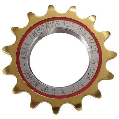 ユーロアジア ゴールドメダルプロ ピスト用固定ギア 17T B002ODWPQ8