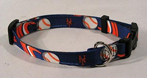 Hunter MFG New York Mets Dog Collar, Medium