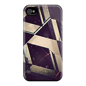 Evanhappy42 Cases Covers For Iphone 6 - Retailer Packaging Space Triangles Protective Cases
