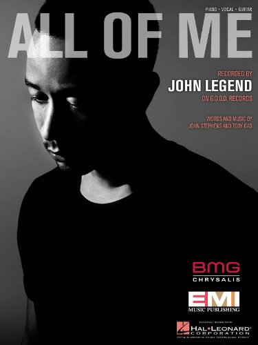 John Legend - All Of Me - Sheet Music (John Legend Piano Sheet)