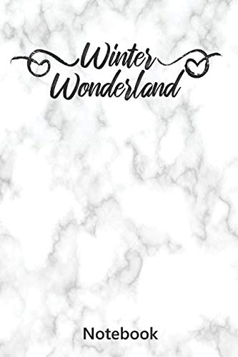 Notebook: Winter Wonderland | Saying (6x9 inch | lined paper | 100 ()