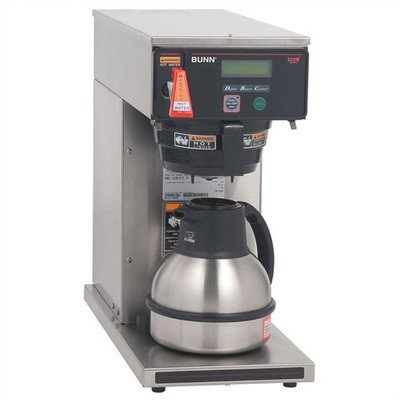 Bunn O Matic AXIOM 12 Cup Dual Voltage Thermal Carafe Coffee Brewer, 17.9 x 9 x 18.5 inch -- 1 each.