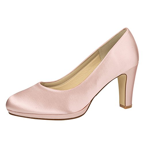 scarpe Donna Elsa Coloured Shoes col tacco avorio