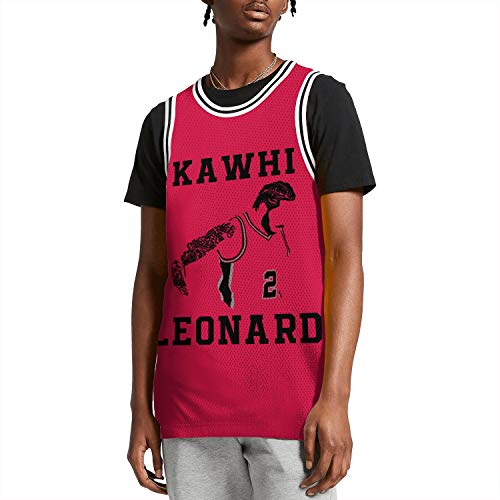 The-Claw-Klaw-Toronto-Raptors-Kawhi-Leonard-#2-Mens Squad Basketball Jersey Personalized S-XXL