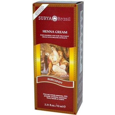Surya Henna Brasil Cream Burgundy -- 2.31 fl oz