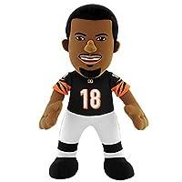NFL Cincinnati Bengals A. J. Green Player Plush Doll, 6.5-Inch x 3.5-Inch x 10-Inch, Orange