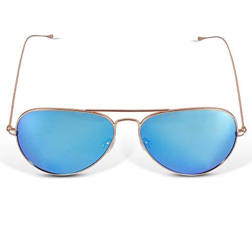 446e9de976343 free shipping LUMCHO Classic Aviator Polarized Sunglasses-Unisex ...
