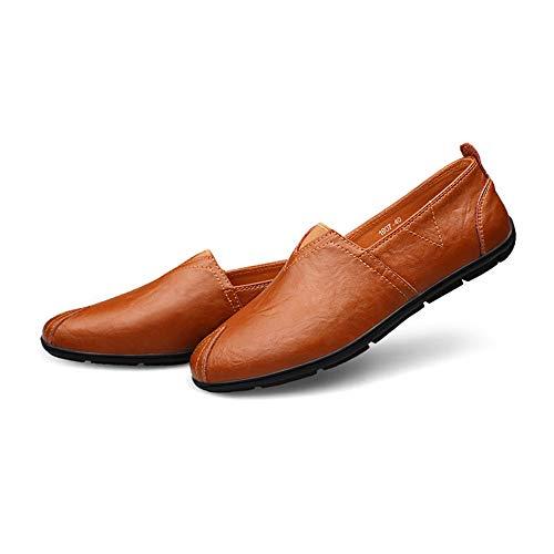 Cuir Mocassin Hommes Confort Pour De Enfiler En Mocassins D'affaires Coupe Conduite Décontractée À Chaussures Noir gommino Basse Bateau nwZSW
