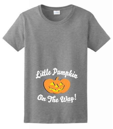 Little Pumpkin Maternity Themed T Shirt