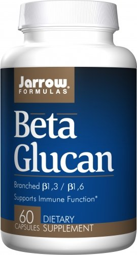 Jarrow Beta Glucan 250mg, 60 caps ( Multi-Pack) by Jarrow Formulas