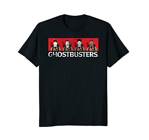 Male or Female Adults Ghostbusters Faces T-shirt