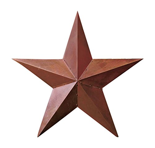 1 X 36 Rustic Dimensional Barn Star -