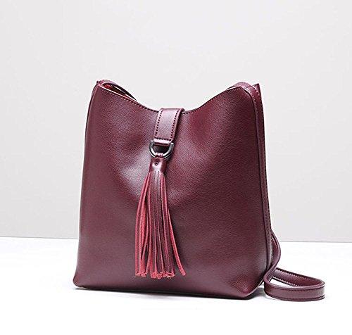 MALLUO - Bolso mochila  para mujer Red