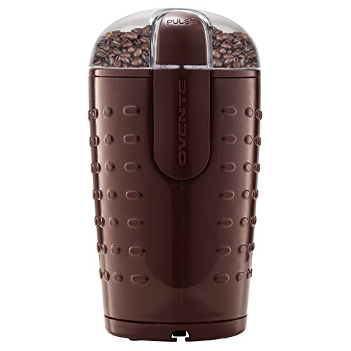 CG225 Brown Electric Grinder with Stainless Steel Blades for Coffee