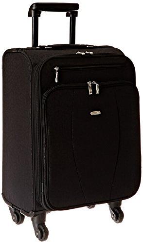 Baggallini Getaway Carryon Travel Roller, Black, One Size