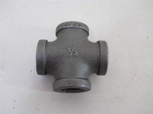 Mueller Industries 521-003Hc 1/2-Inch Black Cross Pipe (Cross Pipe)