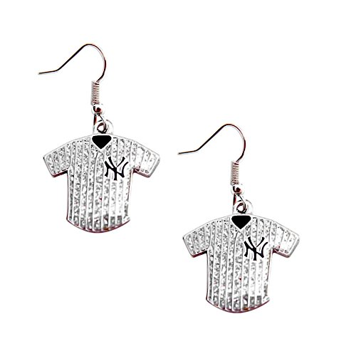 NY Yankees Glitter Jersey (Stainless Steel Necklace Mlb)