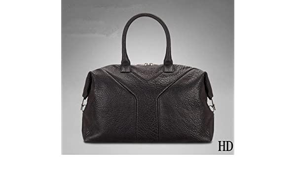 a5537bd87427 Amazon.com   Auth Yves Saint Laurent Easy Boston Bag Enamel Black    Cosmetic Tote Bags   Beauty