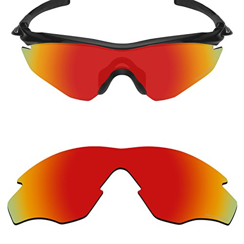 Mryok+ Polarized Replacement Lenses for Oakley M2 Frame / M2 Frame XL - Fire - Frame M2
