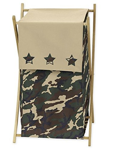 JoJo Designs Baby and Kids Clothes Laundry Hamper - Green...