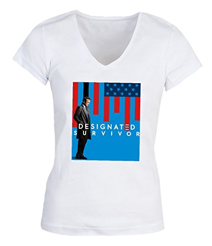 Designated Survivor Damen V-neck T-shirt