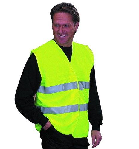 S//M MKR Budget High Visibility Hi-Viz Vis Reflective Fluorescent Vest