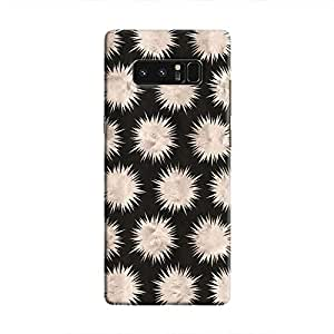 Cover It Up - Silver Star Black Galaxy Note 8 Hard Case