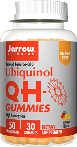 Jarrow Formulas High Absorbtion QH-Gummies, Promotes Energy Support and Cardiovascular Health,  30 Count (Energy Support Formula)