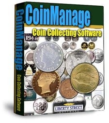 CoinManage 2011 - Coin Collecting - Numismatic CD For Collectors: Manage Your Coin Collection (Windows Software)