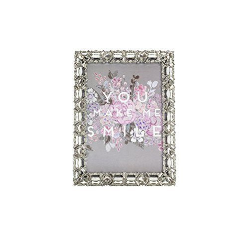 Parisian Home Decorative Jewel Picture Frame, 5