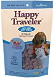 Ark Naturals Happy Traveler Soft Chews, For Cats and Dogs, Eases Anxious and Nervous Behavior, Natural Ingredients, Non Habit Forming, 75 Count