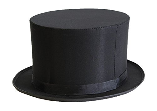 Beistle 60646 Magic Top Hat, Black