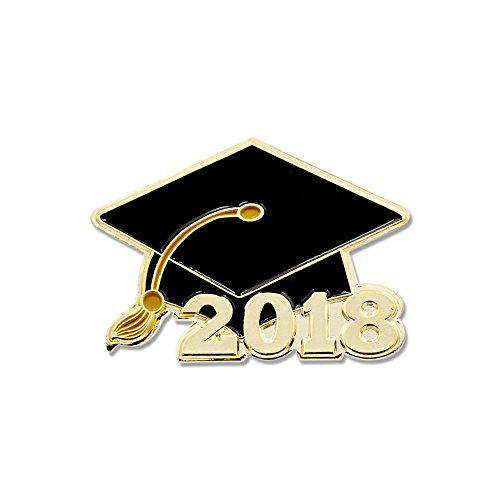 Forge 2018 Class Graduation Cap High School & College Seniors Enamel Lapel Pin– 1 Pin
