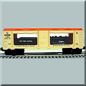 LIONEL Trains 6-19671 Lionel Model Shop Mint Car NYC Hudson 6445-1 Display #1 - Hudson Steam Engine