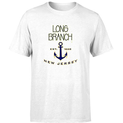 Mine Apparel Long Branch NJ Shirts for Women Men White / 3XL -