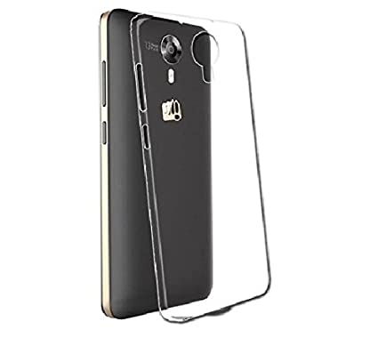 online retailer d71ff 5fa93 Micromax Canvas Fire 4G Back Cover Transparent: Amazon.in: Electronics