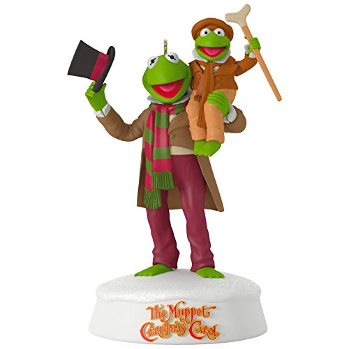 Hallmark Keepsake 2017 The Muppet Christmas Carol 25th Anniversary Sound Christmas Ornament Anniversary Frog